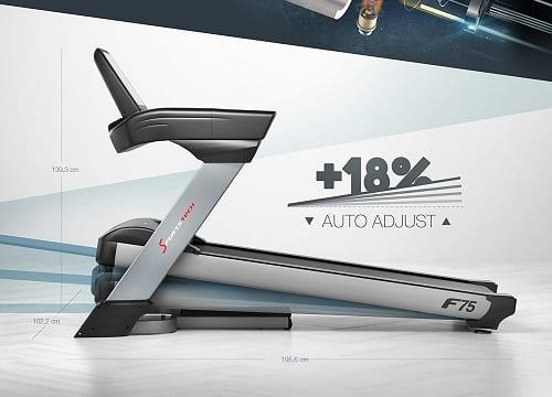 cinta de correr plegable Sportstech F75