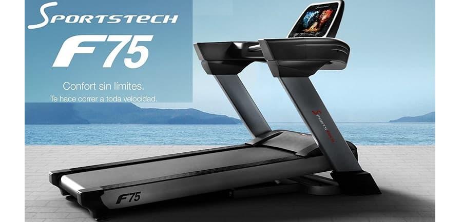 cinta de correr profesional plegable Sportstech F75